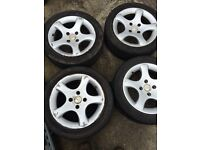 CYCLONES SUIT 206-306-BERLINGO PARTNER ALSO 307-308 AND A SET OF 407 ALLOYS