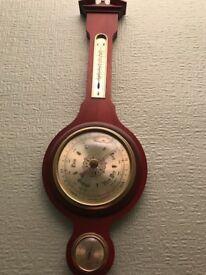 Mahogany Barometer