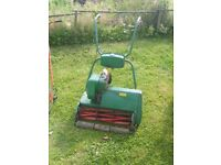 Two lawnmowers lawn mowers spare or repair ( winter project )