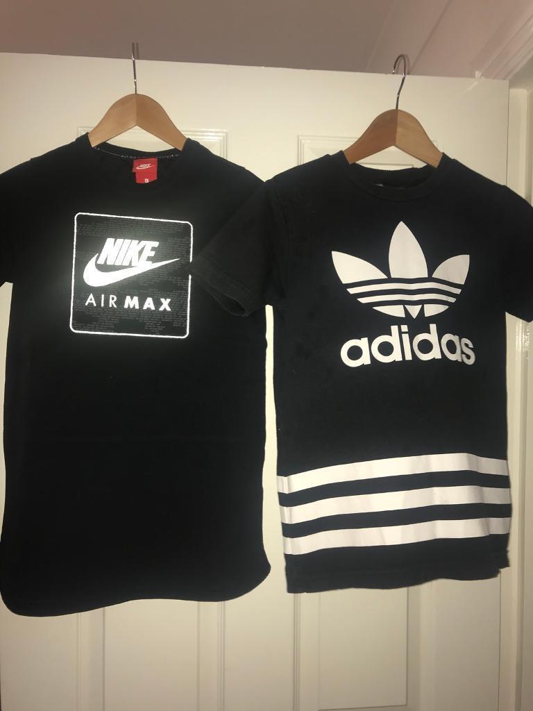 In Age 11 X Nike Boys 12 Size 2 amp; T Large Shirts 13 Adidas Oz4pzaRv