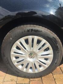 Volkswagen Golf / Caddy / Jetta Steel Wheels x 6