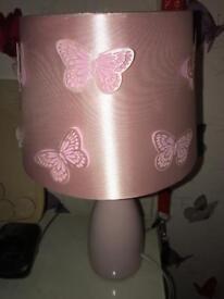 Very pretty butterfly lamp