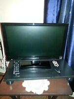 """19"""" Barely used Flat Screen Dynex TV & GE DVD Player"""