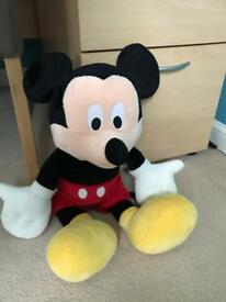Mickey Mouse cuddley toy