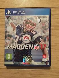 NFL Madden 17 PS4 PlayStation 4 Game