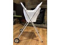 Wash cart, washing basket on wheels, suit elderly or disabled Brand New, Unused, Original packaging