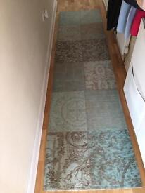 Designer runner rug