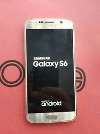 Samsung galaxy s6 gold 32gb good condition