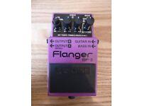 Boss Flanger BF-3 (Guitar & Bass Inputs)
