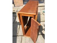 Space saving table and four chairs, flat, small house