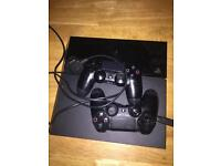 150£ PS4 -2 controllers.