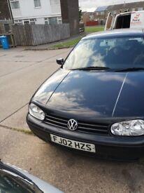 Volkswagen Golf Black, 2002