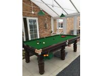 Snooker table for sale included with all accessories - Like Brand new