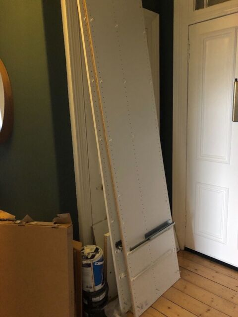 White Ikea Pax wardrobe and various parts - FREE (collection ASAP