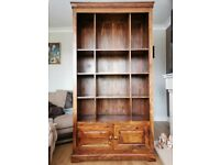 Sheesham Bookcase & Sideboard (Marks & Spencer)