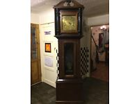 grandfather clock over 7 foot tall