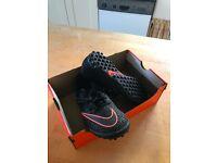 Kids UK 3.5 Nike Mercurialx Pro Artificial Grass Trainers