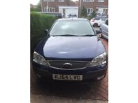 FORD MONDEO 2000CC, 2004, 11 MONTHS MOT, VERY GOOD CONDITION, COLLECT FROM WREXHAM