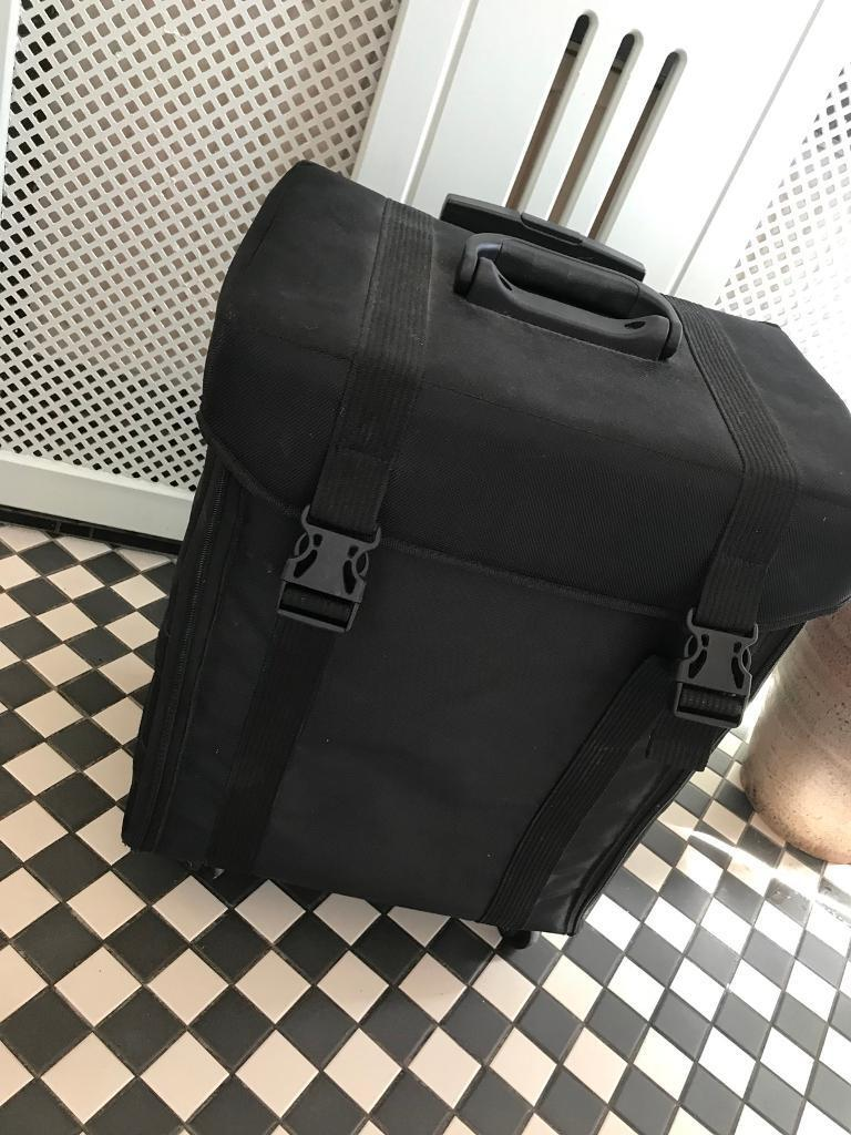 Makeup trolleyin Lincoln, Lincolnshire - Black makeup trolley with 8 drawers and large space for additional products.Comes on wheels with extendable handle Small latex spillage shown in picture, could be picked off. Bought for £240 a year ago Collection only