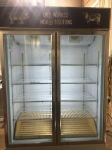 Omcan  D768BM2F Two-section Reach in Freezer