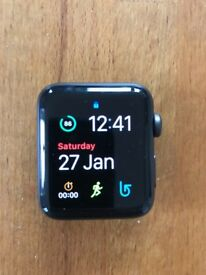 Apple Watch Series 2, 42mm, Space Grey Aluminium in perfect condition