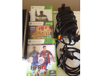 XBOX 360 S 250GB + Kinect, 3 games and Controller