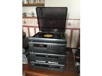 Sharp Retro Hi-fi system. Collect Bunwell NR16. Contact 07799383172