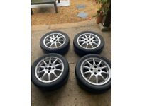 Mazda MX5 Special Edition Alloy Wheels and Tyres