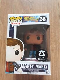 Back to the future Marty mcfly pop figure