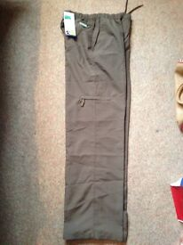 Brand new brownie trousers size 34.