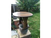 Antique vintage drop leaf table