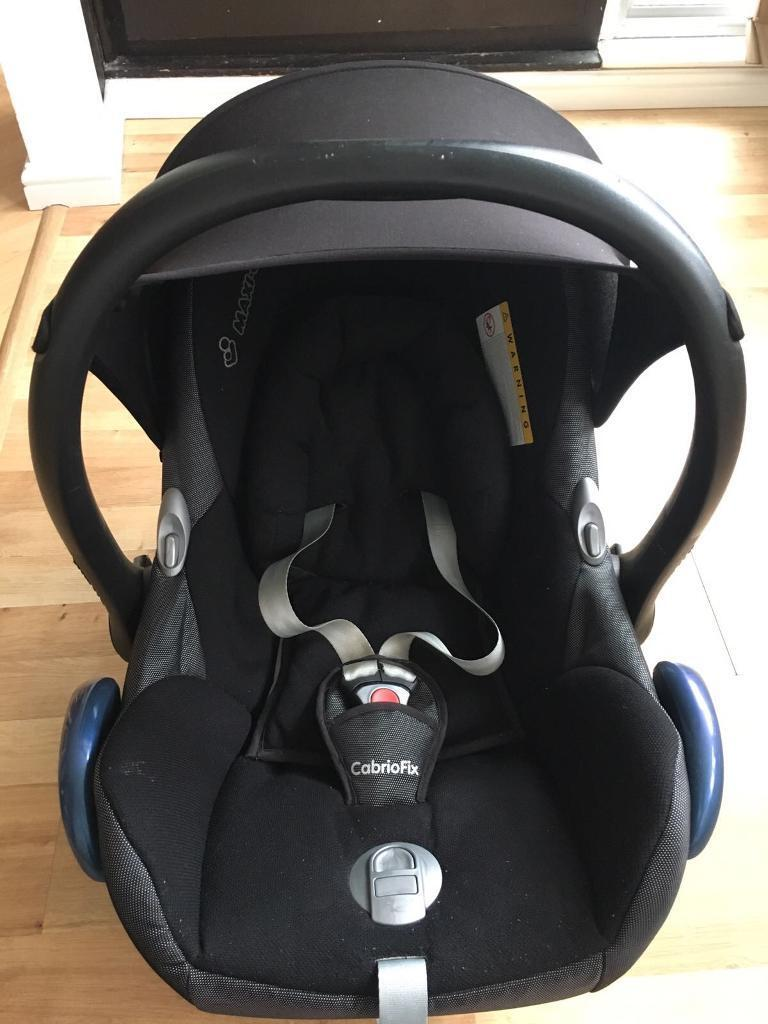Maxi Cosi Cabriofix And Adaptors For Babyzen Yoyo