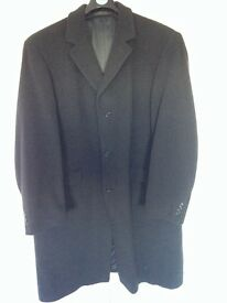 M&S extra large thigh length men's woollen coat from Sartorial range