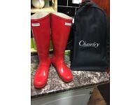 Men's hunter wellies size 8