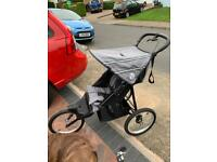 Jogger pushchair used twice practically new