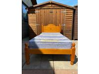 Single Bed & Mattress - Can Deliver