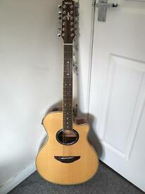 Yamaha APX700-12nt 12 string acoustic guitar