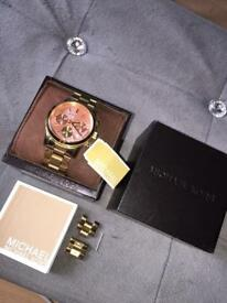 Michael Kors Runway Gold Watch