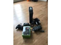 Xbox 360 Elite 120GB, 2 Controllers, Internet Adapter