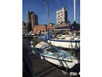 Small yacht for sale