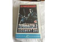 CLASSIC Terminator 2 Judgement Day on VHS - LIKE NEW