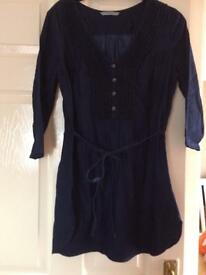 Ladies George denim top size 8