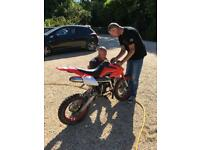 125cc dirt / pit bike