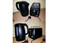 Toaster and warm kettle