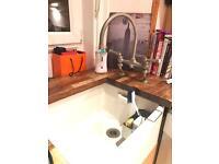 Original Armitage Belfast sink with tap