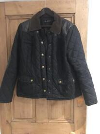 Padded Barbour style jacket size 16