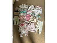 Girls newborn to 1 month bundle