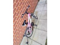 Carrera kids bike pink