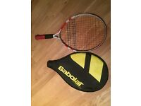 """Preowned Babolat Tennis Racket Size 21"""" , Age 4 to 6"""