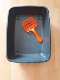 Litter tray and scoop - FREE